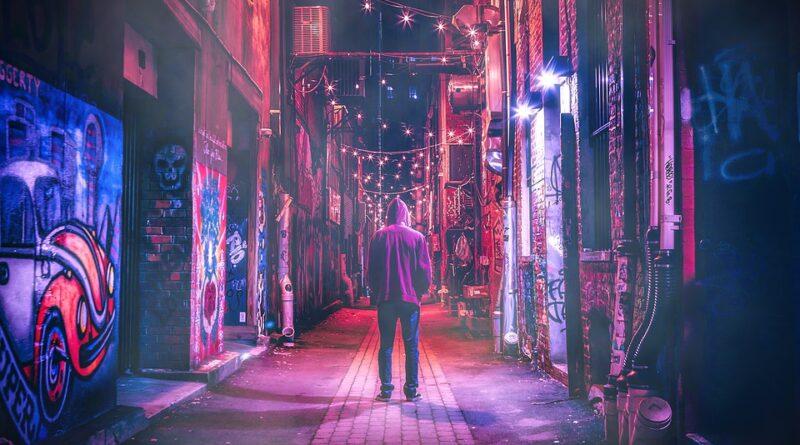 neon light boy