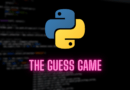the guess game in python