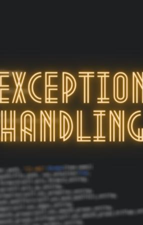 exception handling in python
