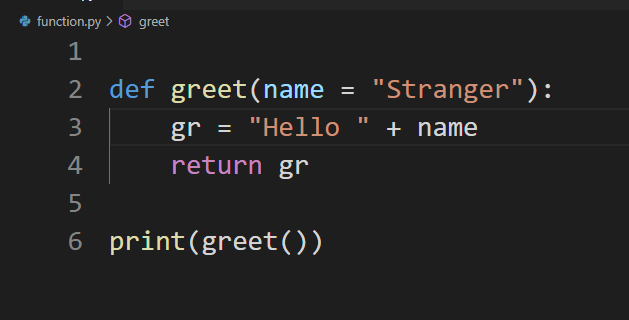 default function